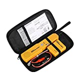 Wire Tracer Electrical Circuit Tester Tone Generator and Probe Kit,Circuit Breaker Finder Network Cable Continuity Tester Electric,Automotive Wire Tracker Telephone Line Finder Toner Detector Tool