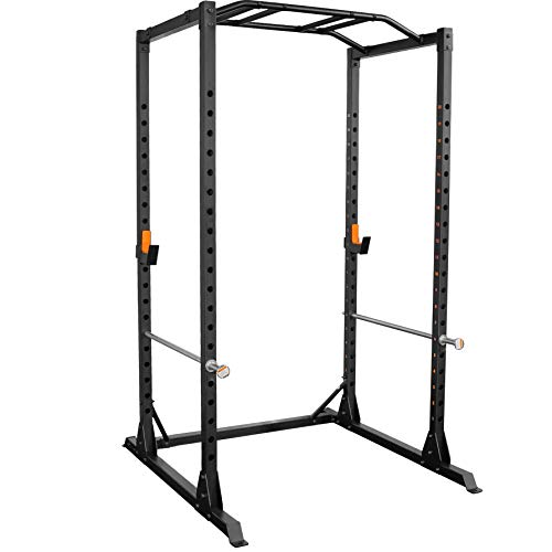 GRIND Fitness Alpha3000 Power Rack, Squat Rack with Barbell Holder,...