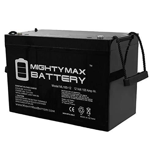 Mighty Max Battery 12V 100AH Battery for Solar Wind DEEP Cycle VRLA 12V 24V 48V Brand Product