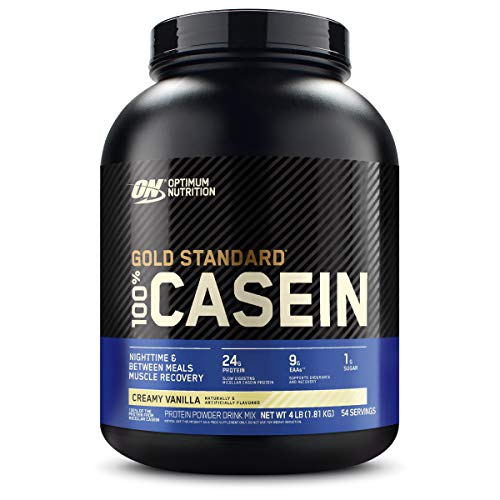 Optimum Nutrition 100% Casein Protein Powder,
