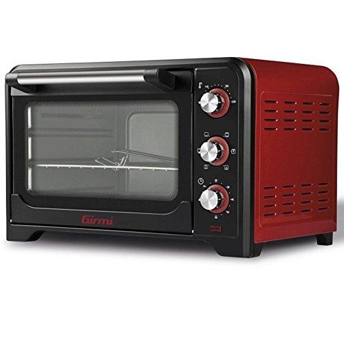 Girmi FE3500 Forno Elettrico, 1600 W, Acciaio Inossidabile, Rosso