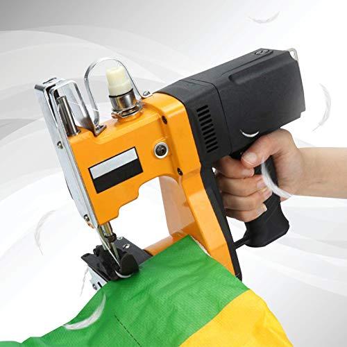TTLIFE Macchina da cucire portatile, macchina per cucire portatile da 220 V Macchina per cucire pi vicina Cucitrice elettrica per cucire (arancione)