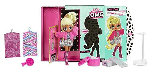 Image 1 - MGA- Poupée-Mannequin L.O.L O.M.G. Lady Diva avec 20 Surprises Toy, 560562, Multicolore