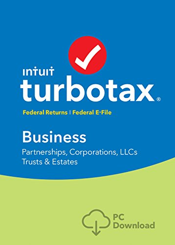 [Old Version] TurboTax Business 2018 Tax Software [PC Download]