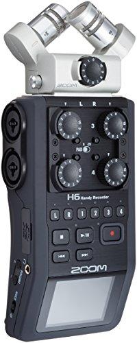 Zoom H6 6 Track Portable Digital Recorder