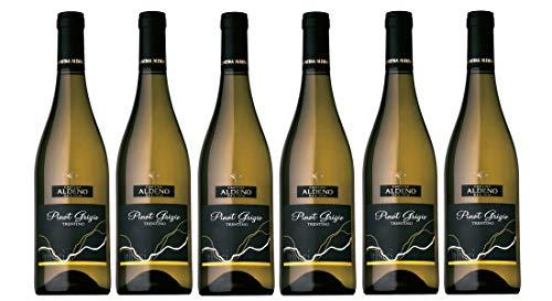 Confezione 6 bottiglie Pinot Grigio | Vino Bianco Trentino DOC | Cantina Aldeno - Athesim Flumen