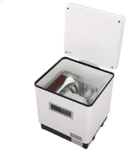 WYZXR Mini Macchina da lavastoviglie Automatica per Uso Domestico, Mini lavastoviglie, Tecnologia...