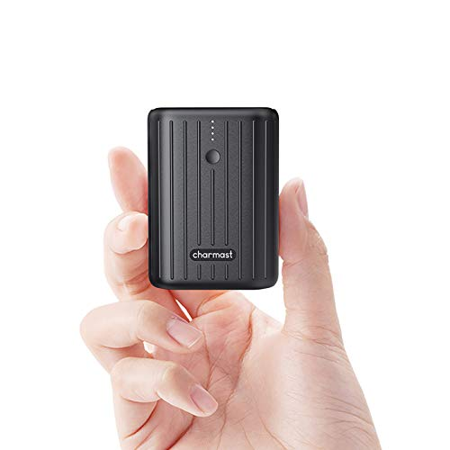 Charmast Mini Power Bank 10000mAh Quick Charge 3.0 USB C Battery Pack PD 18W Power Delivery Caricatore Portatile USB C per Samsung Huawei