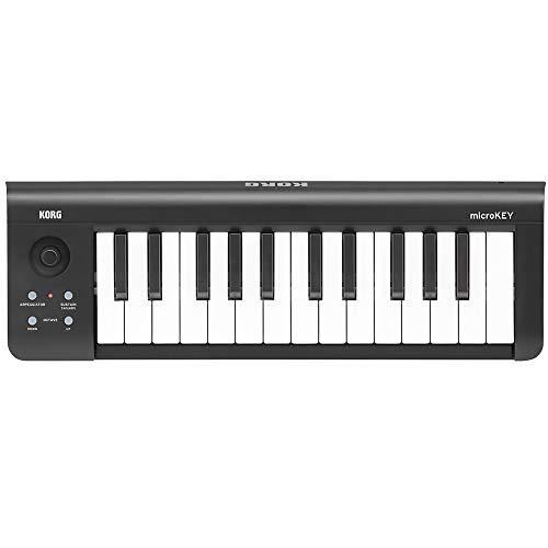 KORG 定番 USB MIDIキーボード microKEY-25 音楽制作 DTM 省スペースで自宅制作に最適 すぐに始められるソ...