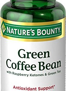 Nature's Bounty Green Coffee Bean with Raspberry Ketones & Green Tea Capsules, 60 ea 13 - My Weight Loss Today