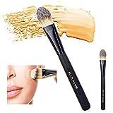Foundation Brush,Pennello per Fondotinta,Fibre Sintetiche,Duo Fiber Stippling Makeup Brush per correttore di precisione,Colore che corregge il liquido di miscelazione(1 Pcs)