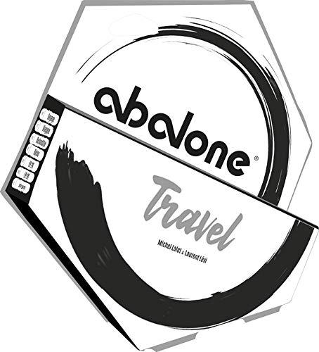 Asmodee ASMD0035 Abalone Travel (redesigned), Mehrfarbig, bunt, schwarz, weiß