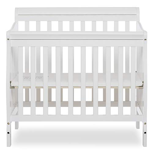 Product Image 7: Dream On Me Aden 4-in-1 Convertible Mini Crib in White, Greenguard Gold Certified