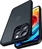 CASEKOO iPhone12Pro 用 ケース iPhone12 用 ケース 半透明 マット感 指紋防止 米軍MIL規格 耐……