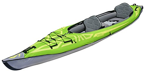 Advanced Elements AdvancedFrame Convertible Inflatable Kayak, Green