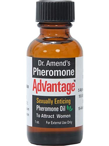 Dr. Amend's Pheromone Advantage - Unscented to Be Worn with Your Cologne or Perfume to Attract Women by Dr Amend