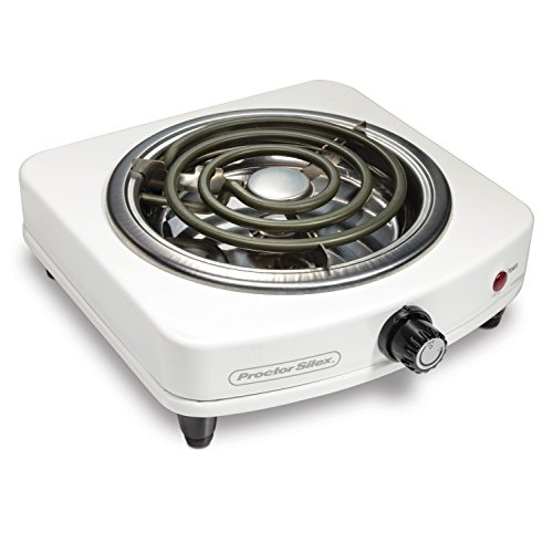 Proctor Silex 34103 Electric Single Burner, Compact and...