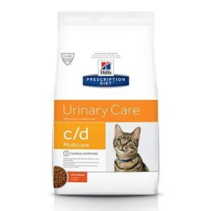 Hill's Prescription Diet Dry Cat Food, Veterinary Diet, c/d Multicare Urinary Care