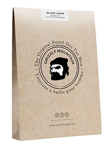Colorante barba nera organico e naturale con base organica