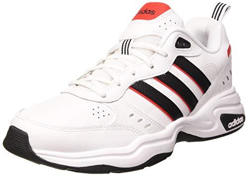Adidas Strutter, Zapatillas Deportivas Fitness y Ejercicio Hombre, Rojo FTWR White Core Black Active, 46 EU