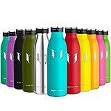 Super Sparrow Borraccia Termica – 500ml | Bottiglia Acciaio Inox Isolamento | Senza BPA - Borracce per Bambini, Scuola, Sport, All'aperto, Palestra, Yoga