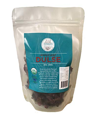 Ocean's Balance, Dulse Whole Leaf Organic, 2 Ounce