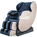 Real Relax 2020 Massage Chair, Full Body Zero Gravity Shiatsu Recliner with Bluetooth and Led Light,...