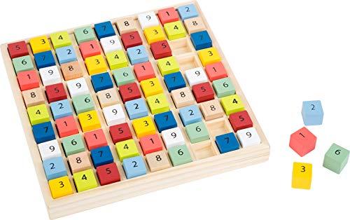 Small Foot Sudoku Colorido de Madera