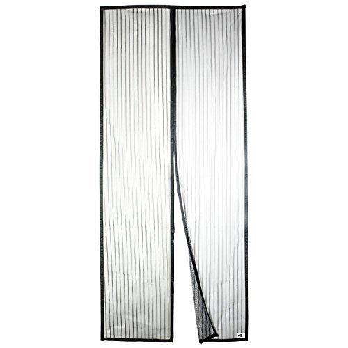 Apalus Magnet Fliegengitter Tür Insektenschutz 90x210 cm, Der Magnetvorhang Ist Ideal Für Die Balkontür, Kellertür Und Terrassentür, Kinderleichte Klebemontage Ohne Bohren (Nicht Kürzbar)