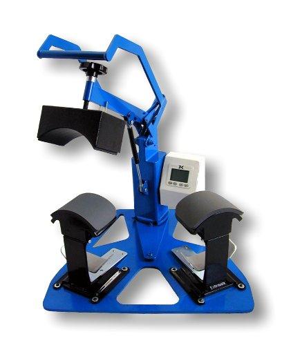 Geo Knight Heat Press DK7T - Digital 4x7 Twin Cap Heat Press