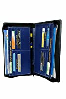 Multiple cheque book holder Also in budget zip document holder 12 card holder currency & pen holder manufactured by pareek