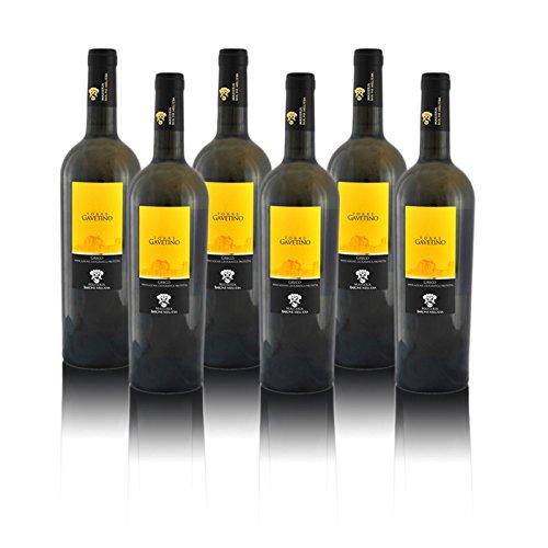 Masseria Barone Melodia Vino Bianco'Torre Gavetino' Greco IGP Puglia 2017 - Box 6 bottiglie da 750 ml