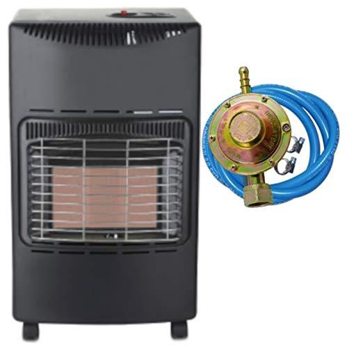 Stufa a gas infrarossi Tectro TGH242R 4200 W ODS sistema anti-ribaltamento ed assenza fiamma O2...