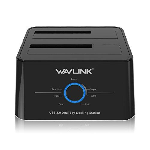 WAVLINK Dual Bay SATA a USB3.0 disco rigido...