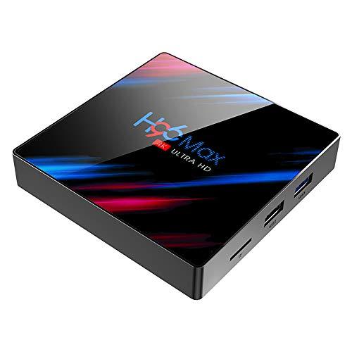 Byttron Android 9.0 TV-Box Smart Media Box 4 GB RAM 32 GB ROM RK3318 Vierkern-Bluetooth 4.2 WiFi 2.4G & 5G Ethernet 1USB 3.0 & 1USB 2.0 Set-Top-Box-Unterstützung 4K Ultra HD Internet-Videoplayer …