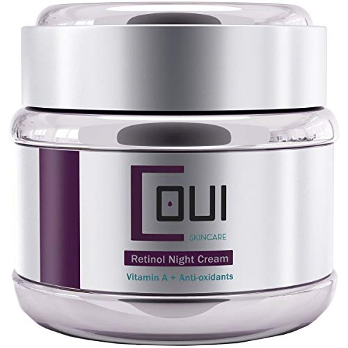 RETINOL Night Cream Face Moisturizer Anti Aging Anti Wrinkle Paraben Free - Facial Skin Repair Firming For All Skin Types