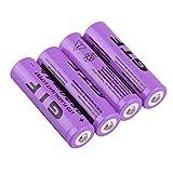 18650 Piles Rechargeables, Haute Capacité 9800 mAh 3.7 V li-ION Batterie, pour...