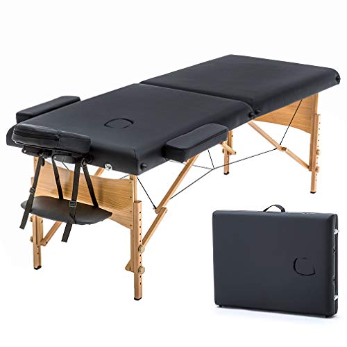 Massage Table Portable Massage Bed Spa Bed 73' Long 28'...