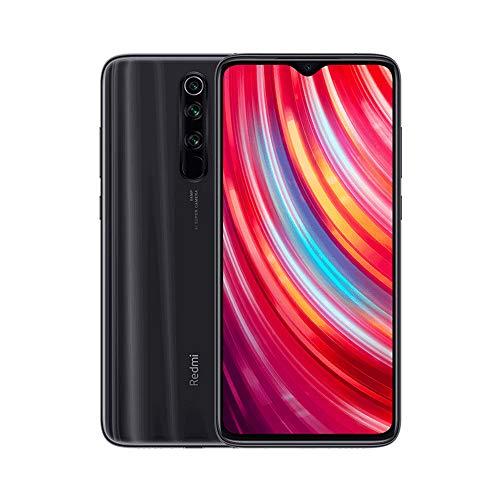 """Xiaomi Redmi Note 8 Pro Teléfono, Pantalla Completa de 6.53"""", CPU MTK Helio G90T Octa-Core, 20MP Frontal y 64MP AI Cuatro Cámara Trasera Móviles Versión Global (Gris, 6+128GB)"""