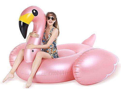 Jasonwell Giant Inflatable Flamingo Pool...