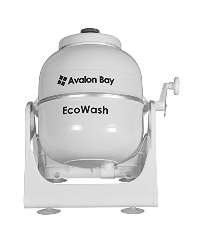 Avalon Bay Ecowash Portable Hand Cranked Manual Clothes...