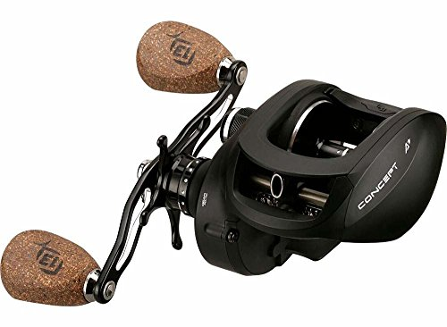Concept A3 Baitcast Reel - 8.1:1 Gear Ratio - Right Handed...