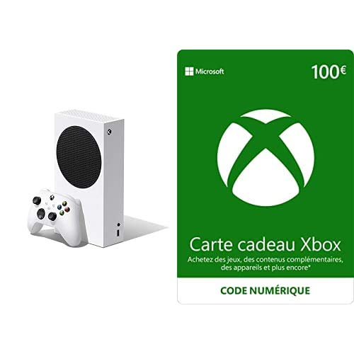 Xbox Series S 512GB + Xbox Live 100 EUR Guthaben [Xbox Live Online Code]