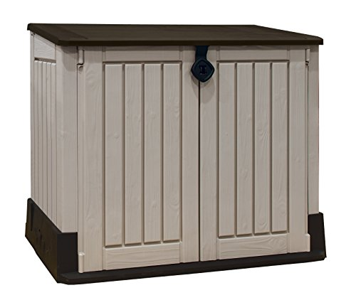 Keter - Porta Attrezzi Store It Out Midi Beige In Resina 130x74x110 cm