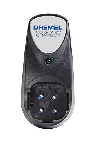 Dremel 760-01 3-Hour Battery Charger for Dremel Cordless Rotary Tool Models 7700 and 7300- Battery not Included- Dual Voltage 4.8-volt and 7.2-volt