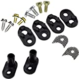 HQRP Door Closer Kit compatible with Whirlpool 4318165 WPW10329686 WP2182179 AP3103517 PS358690 2182178 Refrigerator Replacement