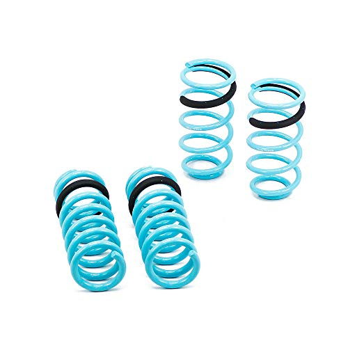 Compatible With/Replacement For Brightt GSP-OCG-052 Traction-S Performance Lowering Springs, Set of 4, fits Mustang 1999-04