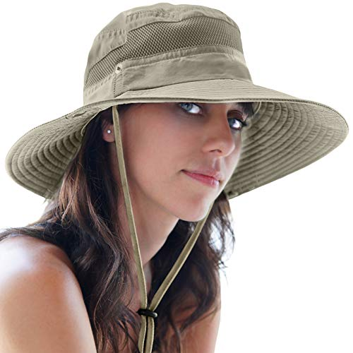 GearTOP Fishing Hat and Safari Cap with Sun Protection | Premium UPF 50+ Hats for Men and Women -...