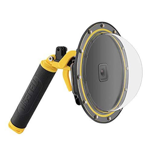 Taoric Porta Dome per GoPro Hero9 Black, Subacquea 6 pollici GoPro Diving Dome Porta con Custodia Impermeabile + Manico Galleggiante Bobber + Trigger per GoPro Hero 9 Black