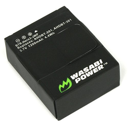 Wasabi Power Battery for GoPro HD HERO3, HERO3+ and GoPro...